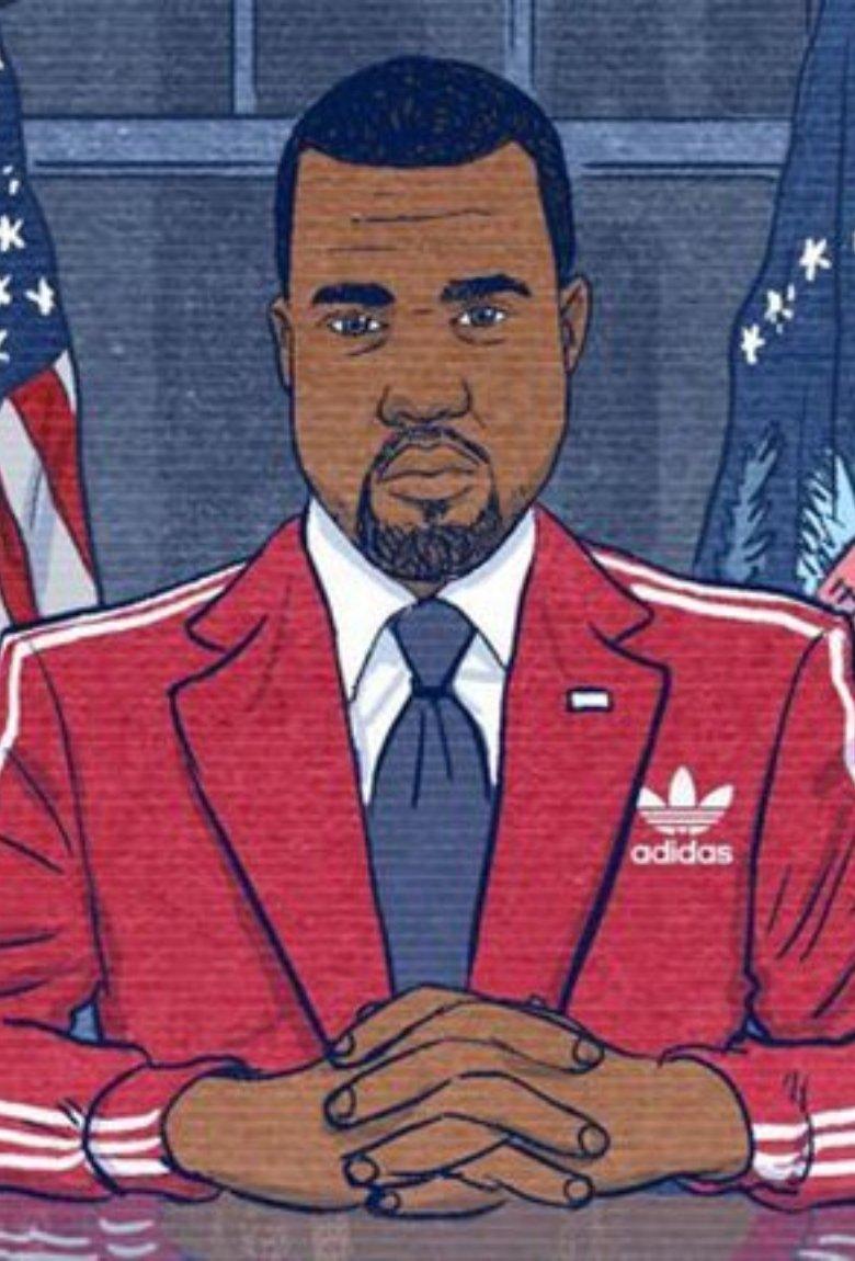 Kanye West quiere ser presidente y terminó siendo meme