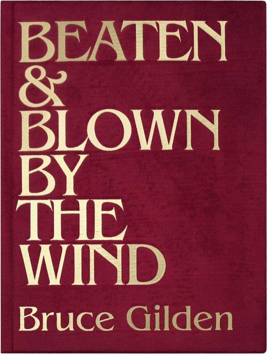 Portada del libro de Gucci, Beaten & Blown by the Wind
