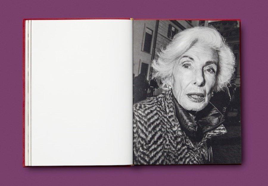 fotografía tomada por Bruce Gilden incluida en el nuevo libro de Gucci, Beaten & Blown by the Wind