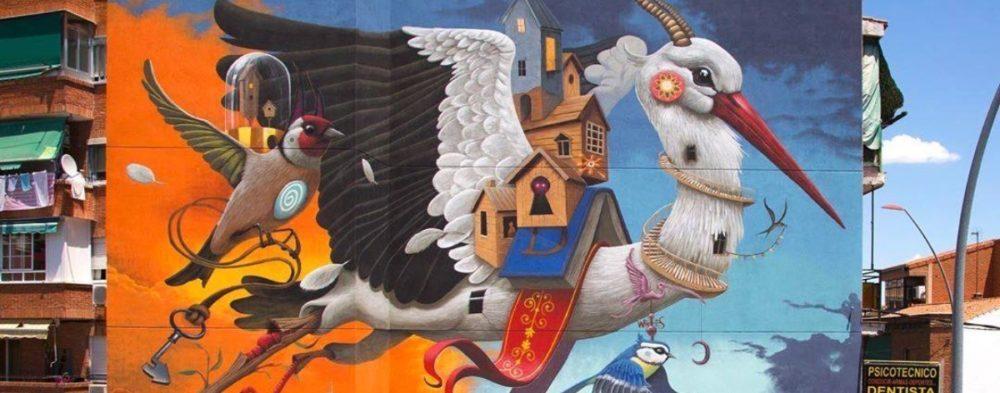 Los murales del mes de julio según All City Canvas