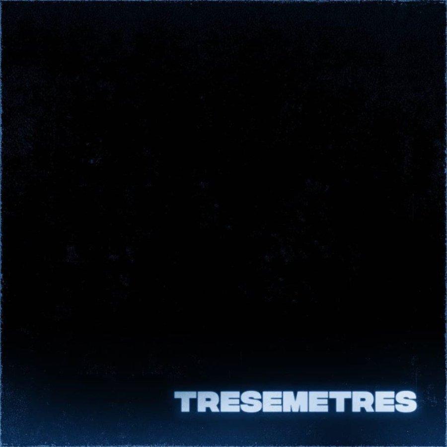 Portada de Tresemetres, EP debut de m3m3m3
