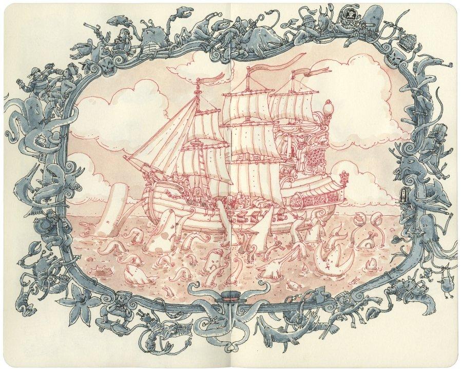 Ilustración de Mattias Adolfsson