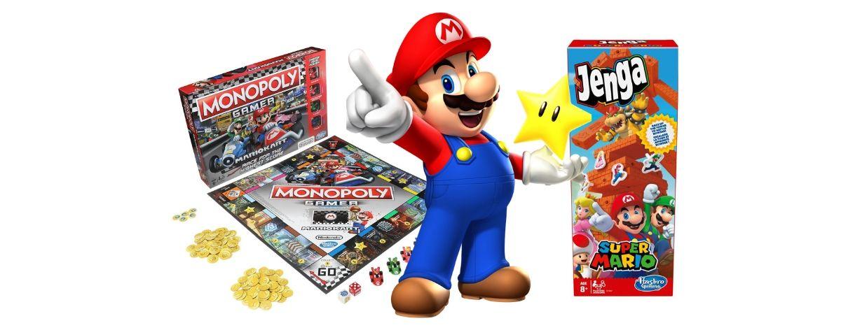 Hasbro y Nintendo celebran 35 años de Super Mario Bros