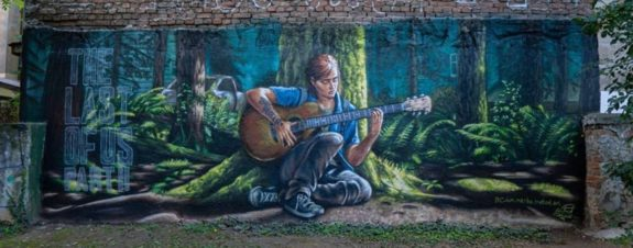 Mural de The Last of Us II creado por el artista Metod