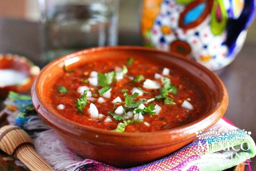 Salsas, parte de la comida mexicana