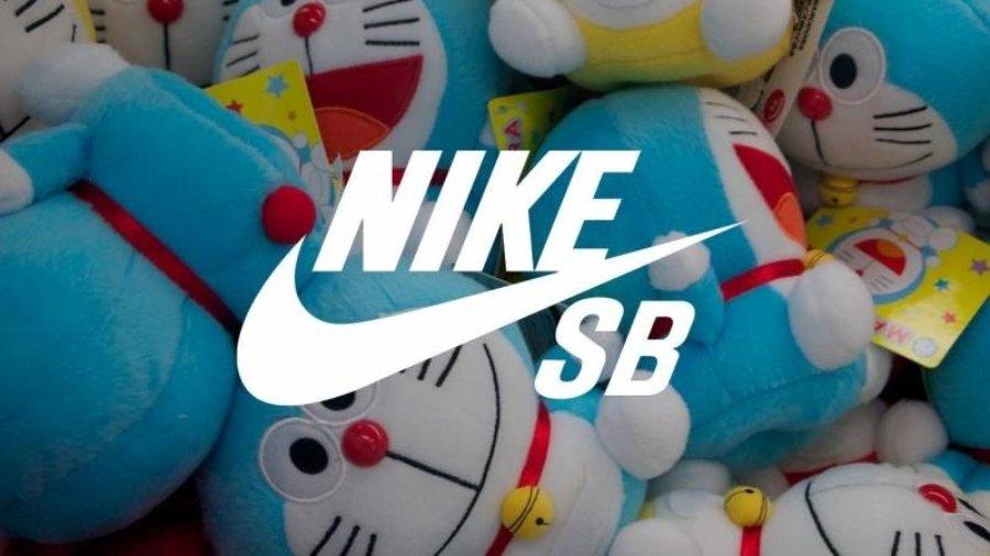 Nike SB y Doraemon
