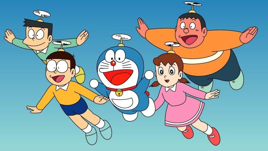 Doraemon y sus amigos, parte de la serie animada de Doraemon