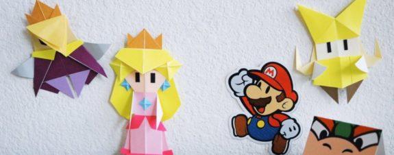 Nintendo lanza tutoriales para hacer origami