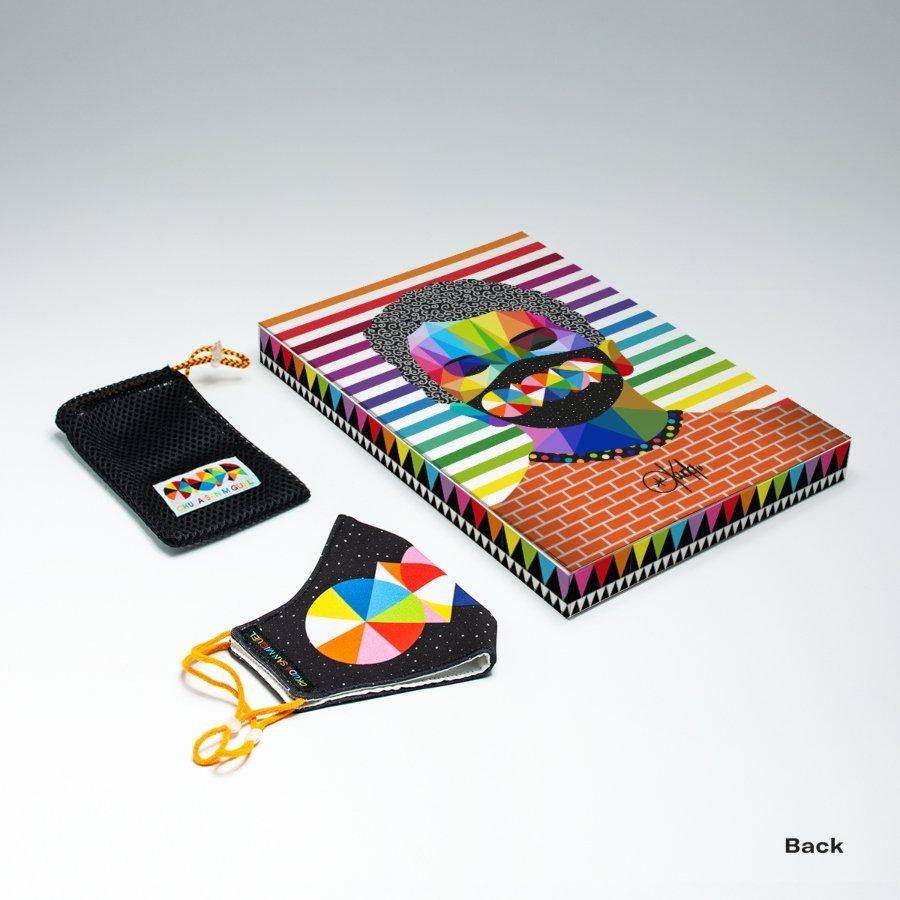Kit de cubrebocas de los diseñadores españoles