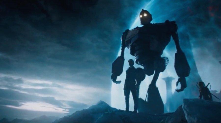 Escena de la película adaptación de la novela Ready Player One