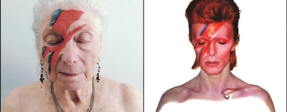 Adultos mayores recrean portadas de discos icónicos