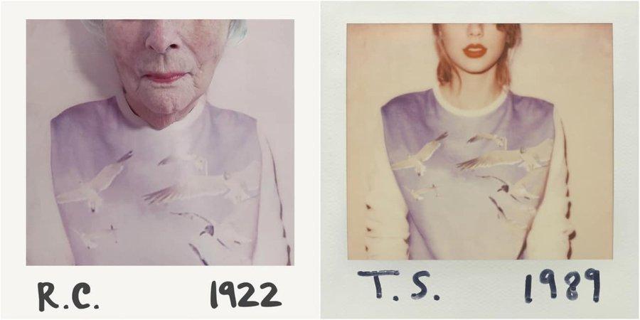 Parodia al disco de Taylor Swift por adultos mayores