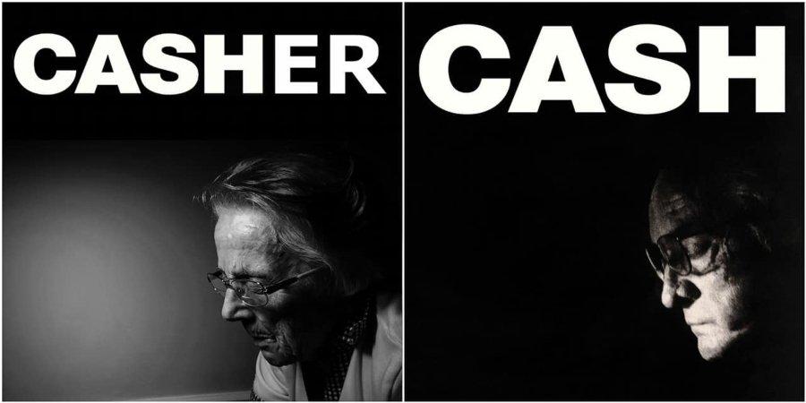 Parodia al disco de Jonny Cash por adultos mayores