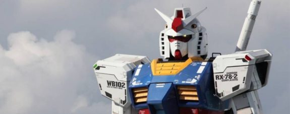 Robot de Gundam llegará a China en 2021