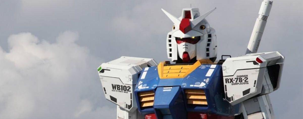 Robot de Gundam a gran escala por fin llega a China