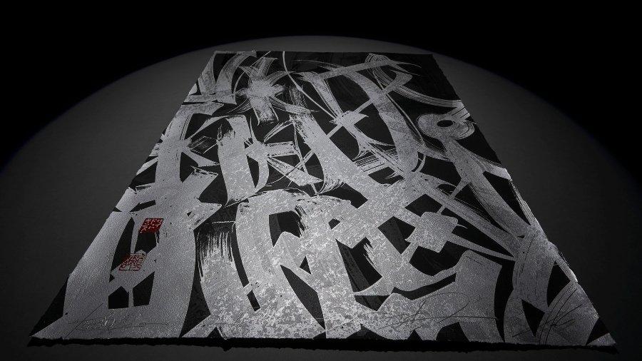 "Pintura de Said Dokins para ""Ghosting Series"""