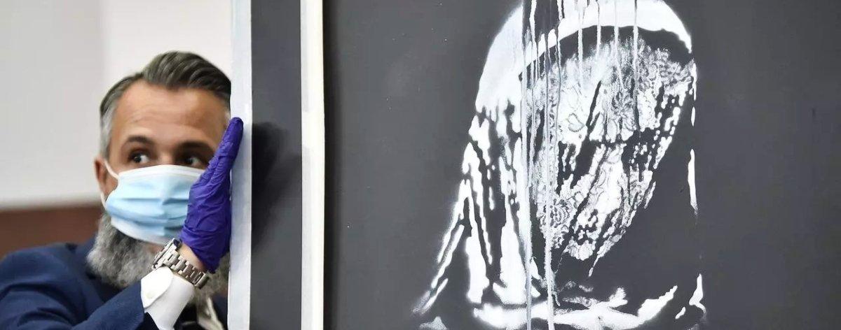 Seis sospechosos detenidos tras robar obra de Banksy