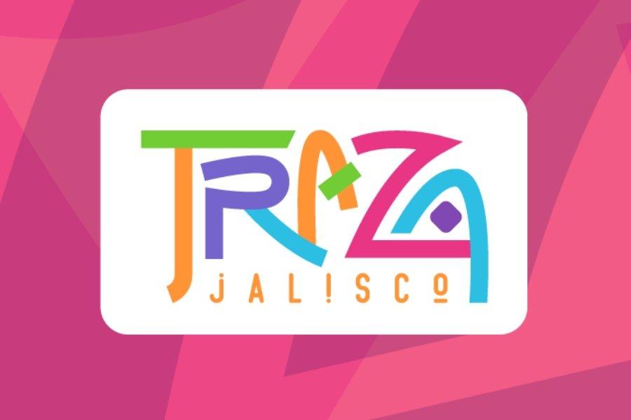 Logotipo oficial de Traza Jalisco