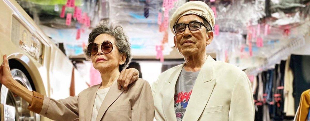 Want Show as Young: unos abuelitos con mucho estilo