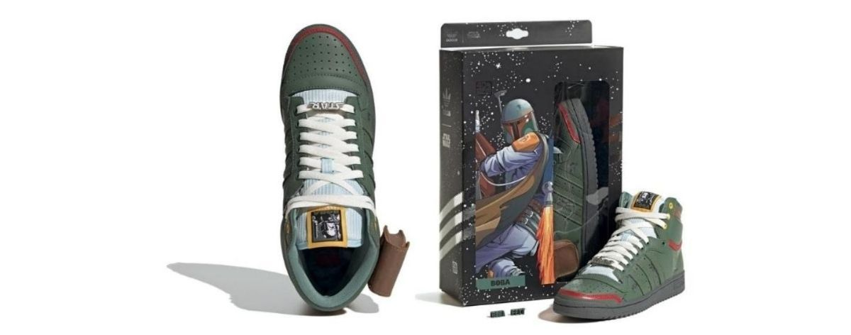 Star Wars y adidas lanzan sneakers de Boba Fett