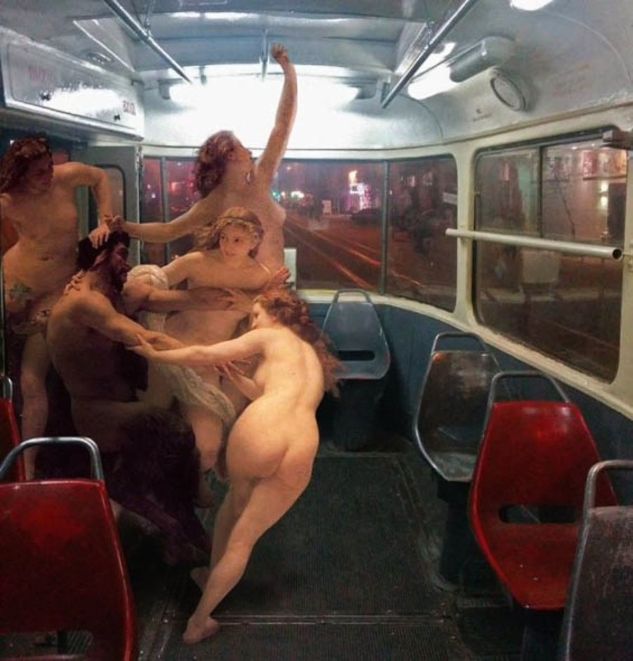 Collage digital por Alexey Kondakov