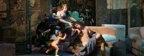Alexey Kondakov trae pinturas clásicas a la modernidad