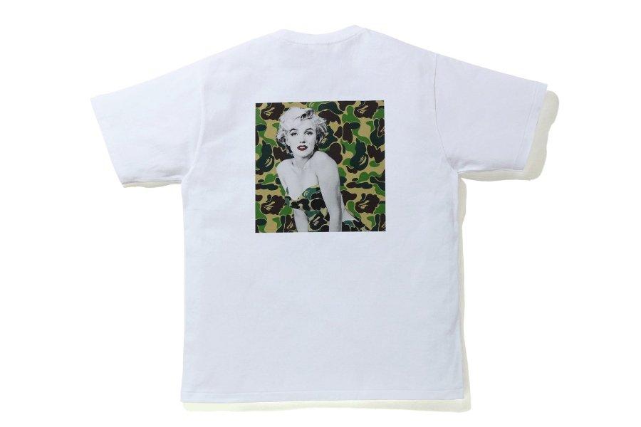 ¨layera de la colección de Bape y Marilyn Monroe