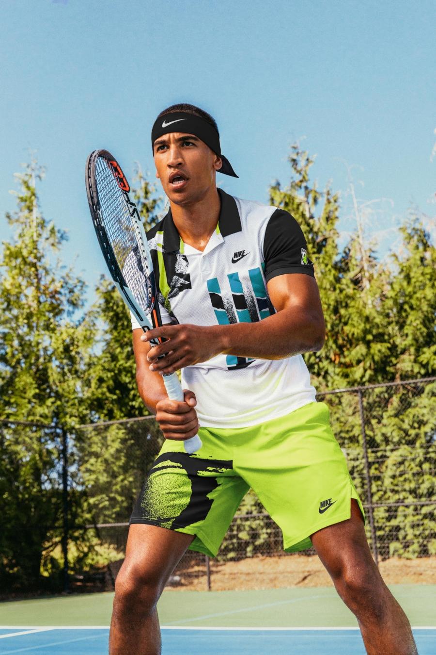 Juego deportivo de la nueva colección Challenge Court de Nike
