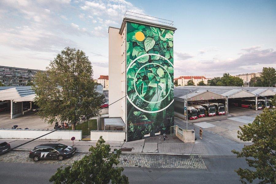 """Mural """"CADMIAE PROPMETHIUM"""" para Calle Libre"""