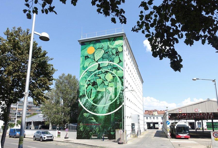 """Mural """"CADMIAE PROPMETHIUM"""" para Calle Libre por Fabio Petani"""
