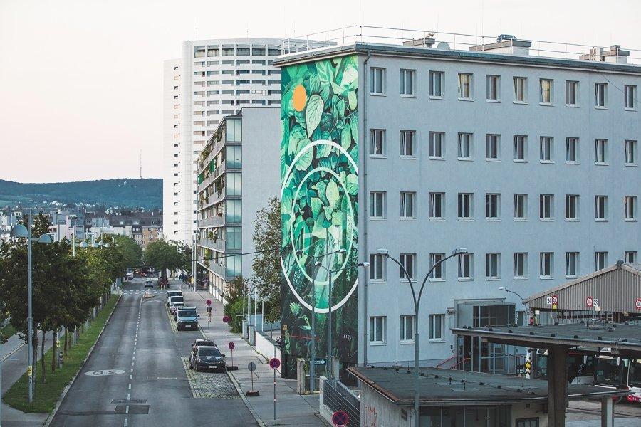 """Mural """"CADMIAE PROPMETHIUM"""" por Fabio Petani"""