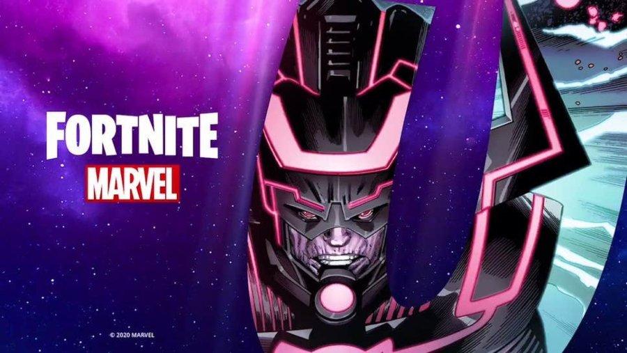 Aspecto de la nueva temporada de Fortnite con Marvel