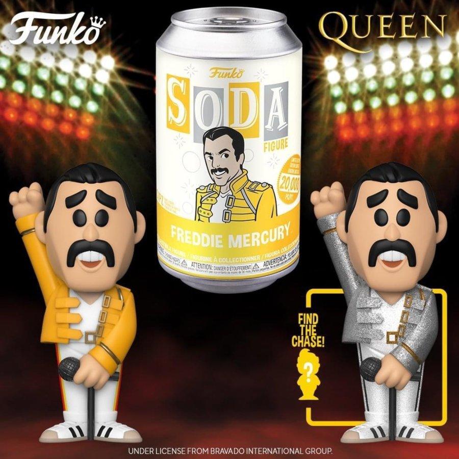 Funko Soda de Freddie Mercury
