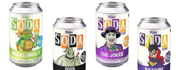 Funko Soda lanza nuevas figuras para este otoño