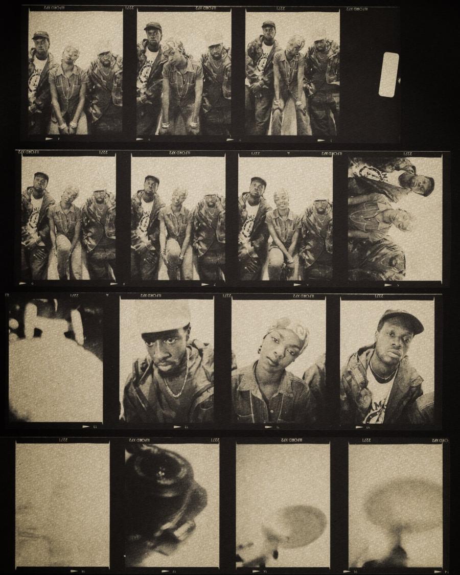 Negativos fotográficos de artistas de Rap