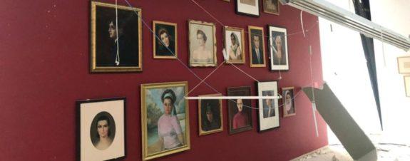 Galerías resultaron afectadas tras desastre en Beirut