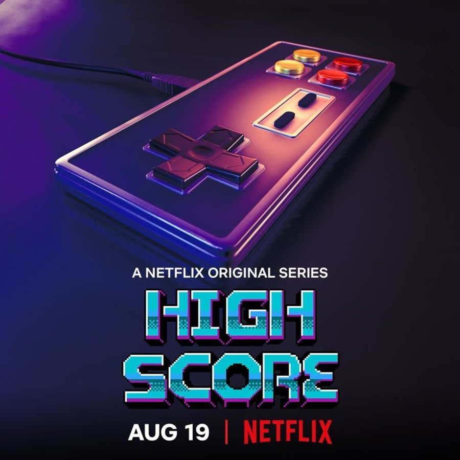 Portada oficial del documental de Netflix High Score sobre videojuegos