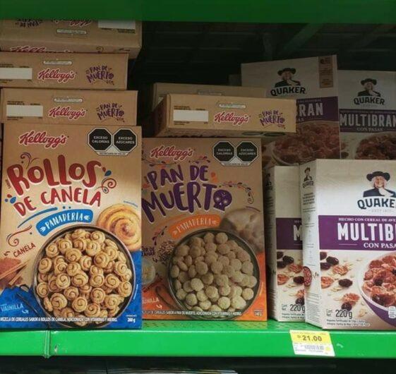 El nuevo cereal de Kelloggs en estantes de supermercados