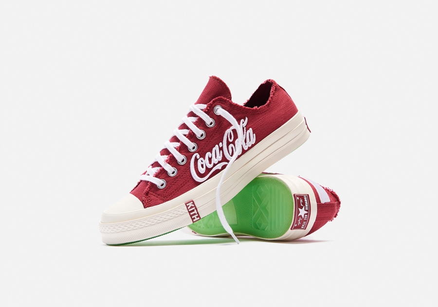 Colección Kith x Coca-Cola x Converse