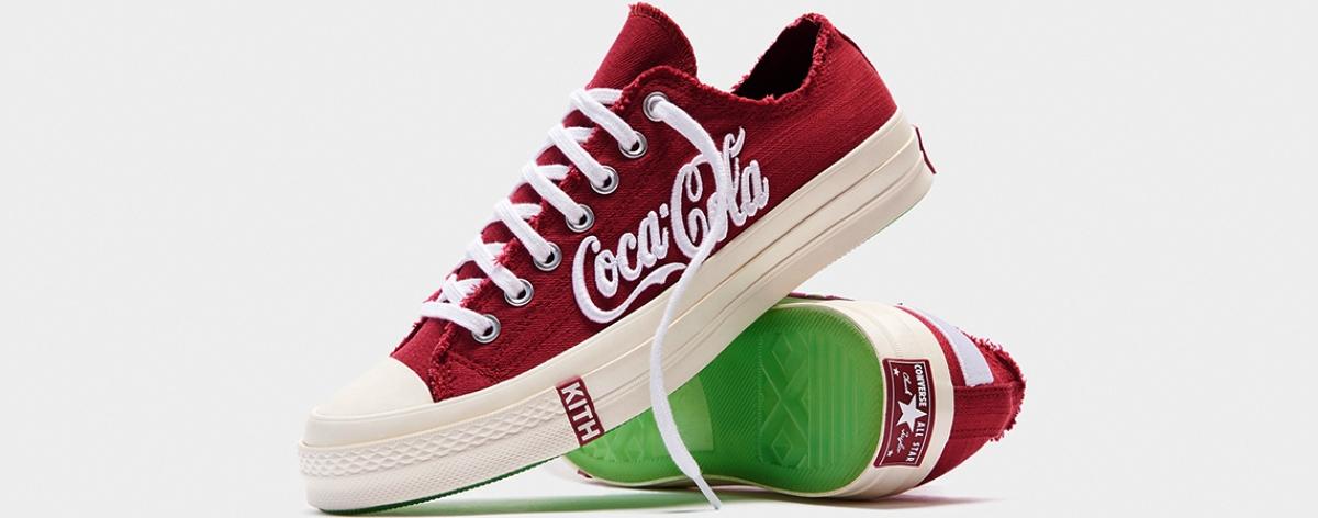 Kith, Coca-Cola y Converse presentan estas bellezas de tenis