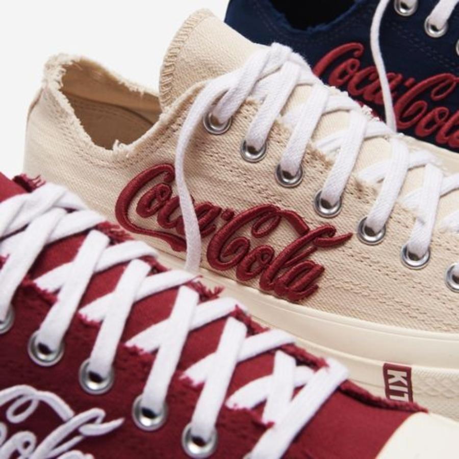 Kith, Coca Cola y converse presentaron estos sneakers