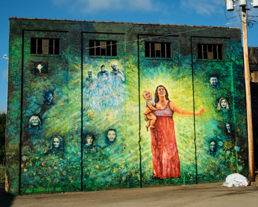 Mural por La Morena