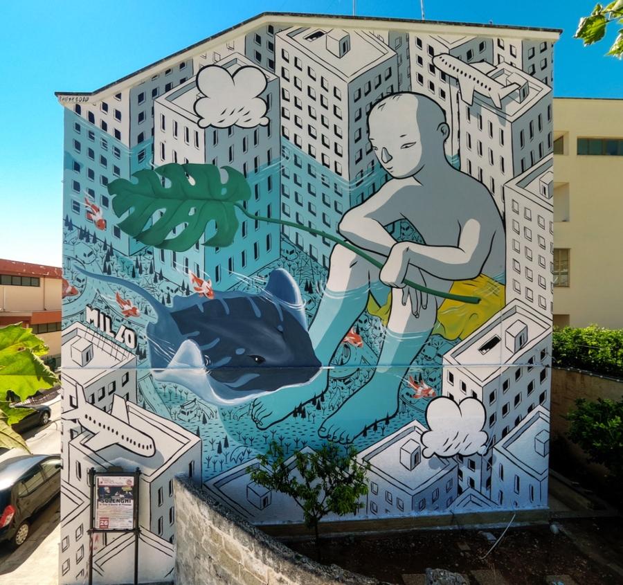 Los murales del mes de agosto por Millo
