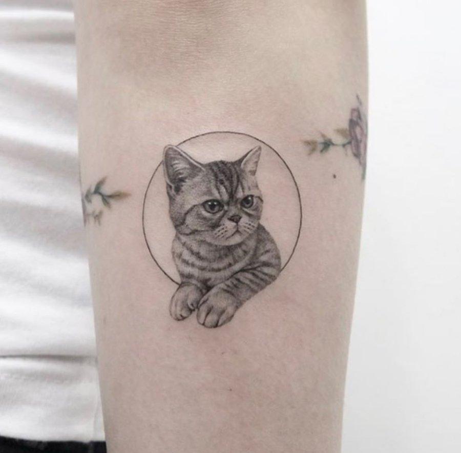 Diseño de tattoo en técnica realista