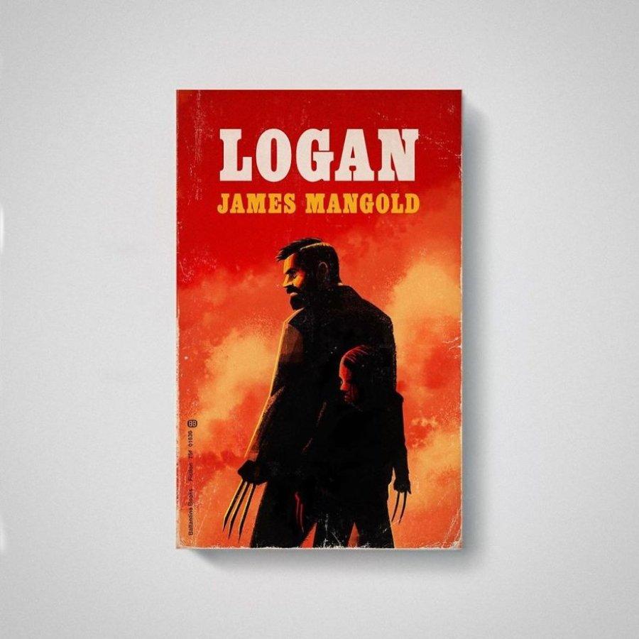 Portada de Logan en libro por Matt Stevens