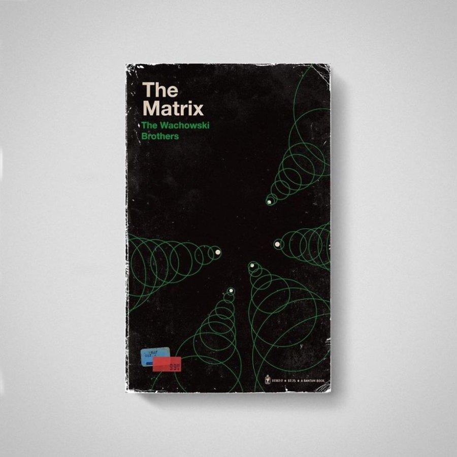 Portada de Matrix en libro por Matt Stevens
