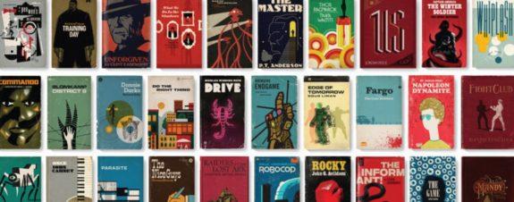 Matt Stevens convierte películas en libros de bolsillo