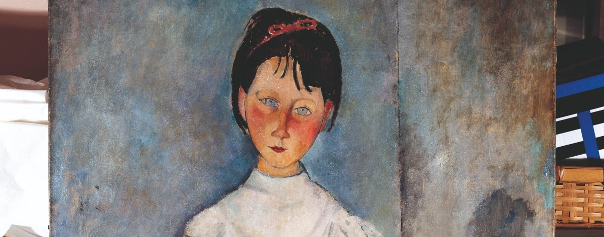 Modigliani llega a Bellas Artes de forma digital