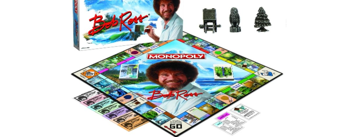 Monopoly de Bob Ross, el nuevo lanzamiento de Hasbro