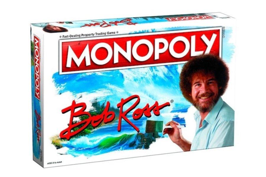 Monopoly de Bob Ross por Hasbro Pulse